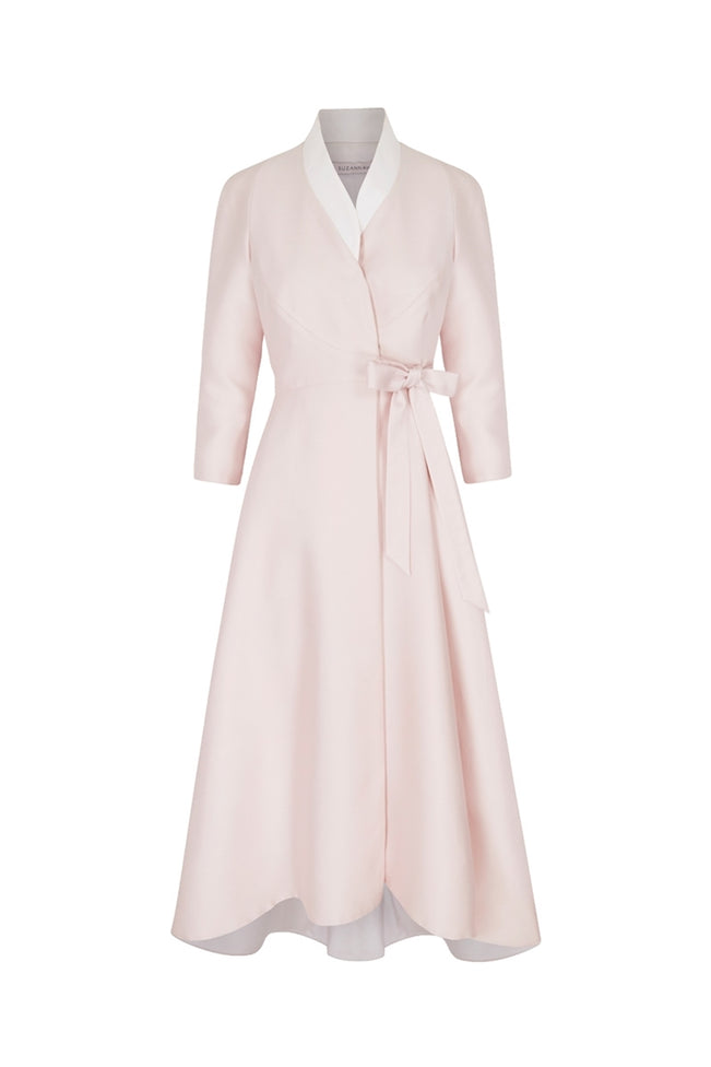 The Sophie Wrap Coat Dress