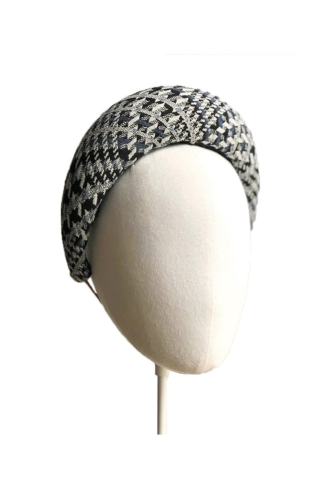 Tweed Check Headband
