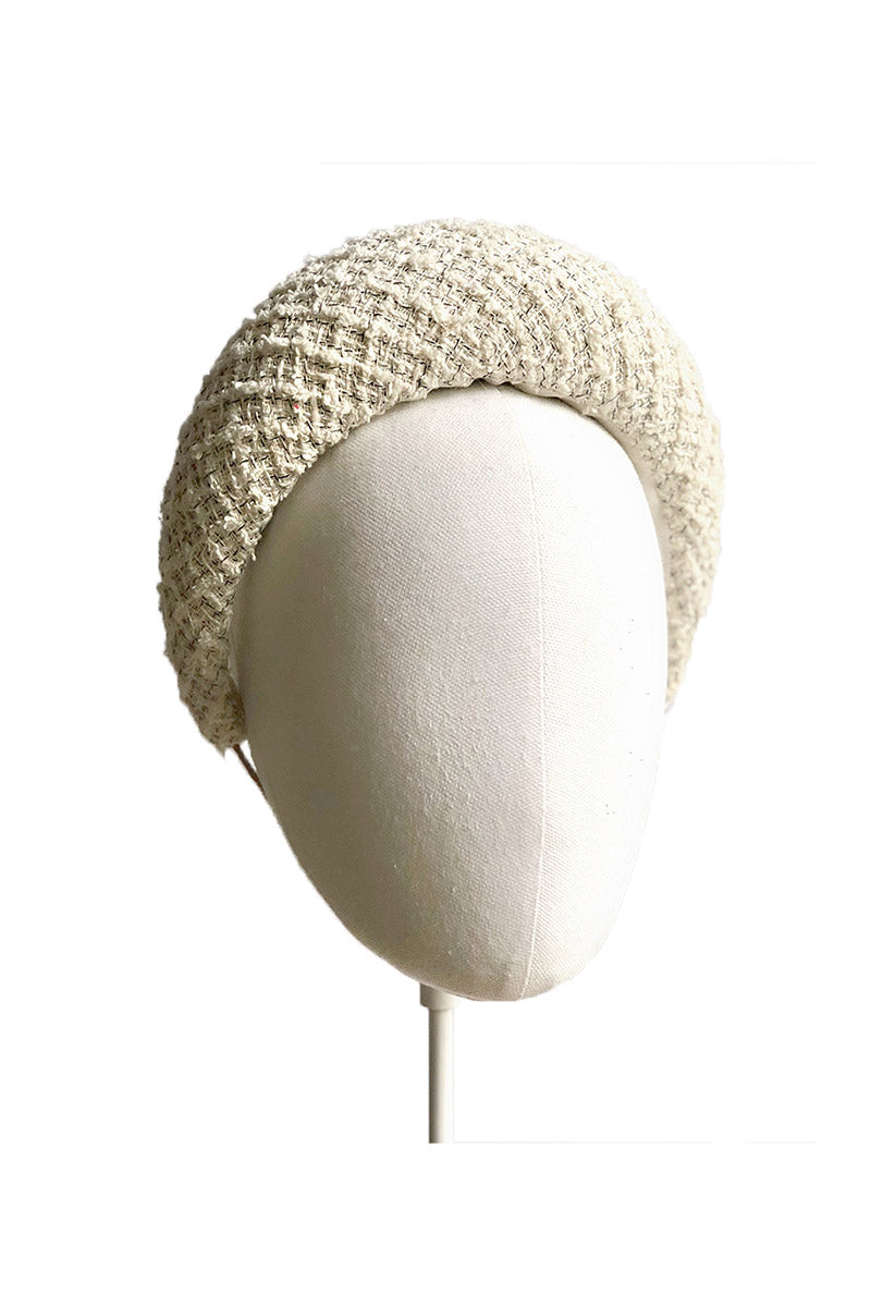Tweed Cream Headband