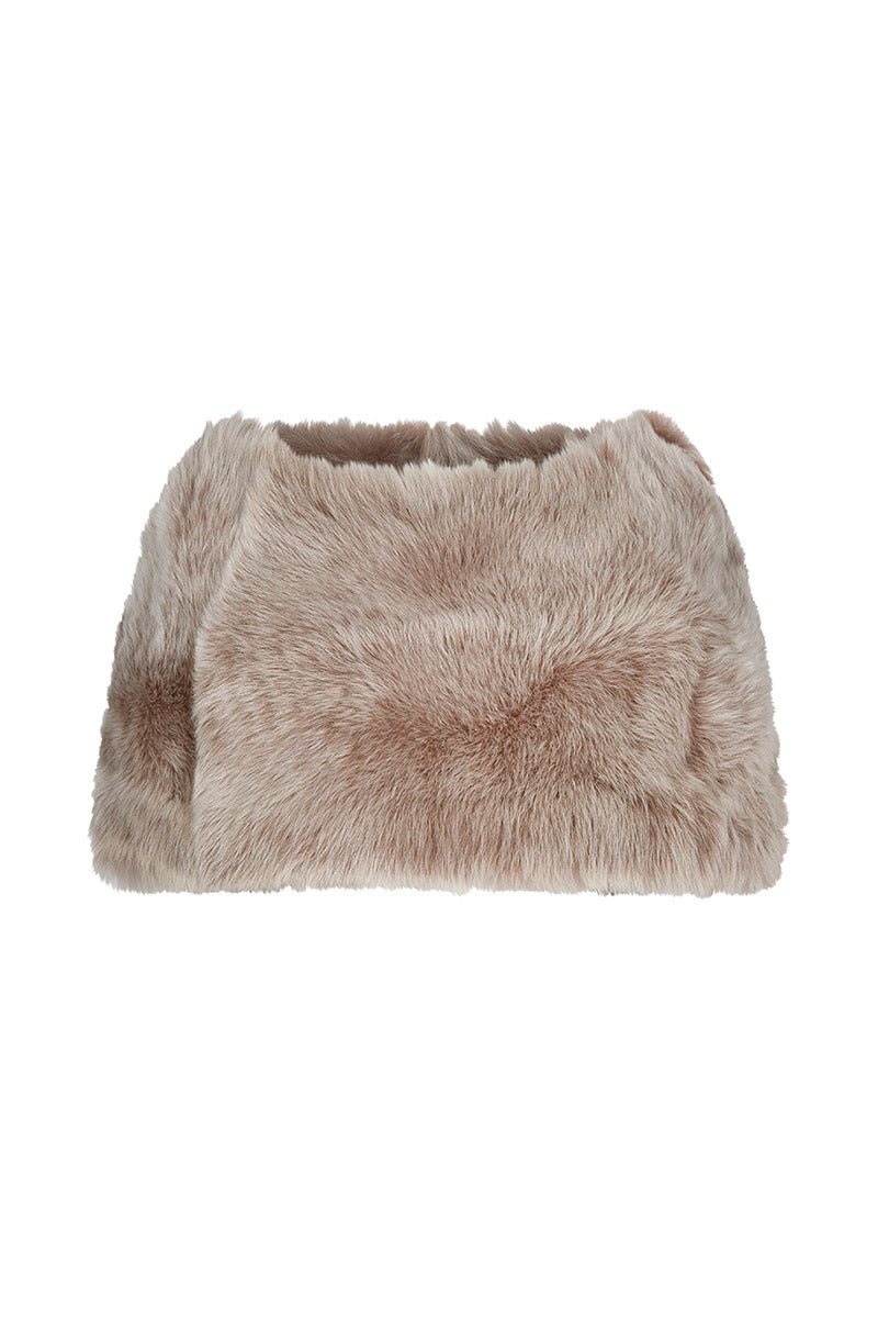 Luxury Sheepskin Capelet