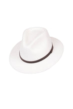 Load image into Gallery viewer, Bogart White Felt Fedora