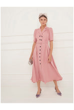 Load image into Gallery viewer, Flippy Wiggle Dress Rose Pink