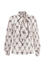Load image into Gallery viewer, Tilda Bows Blouse In Collaboration With Susannah Garrod