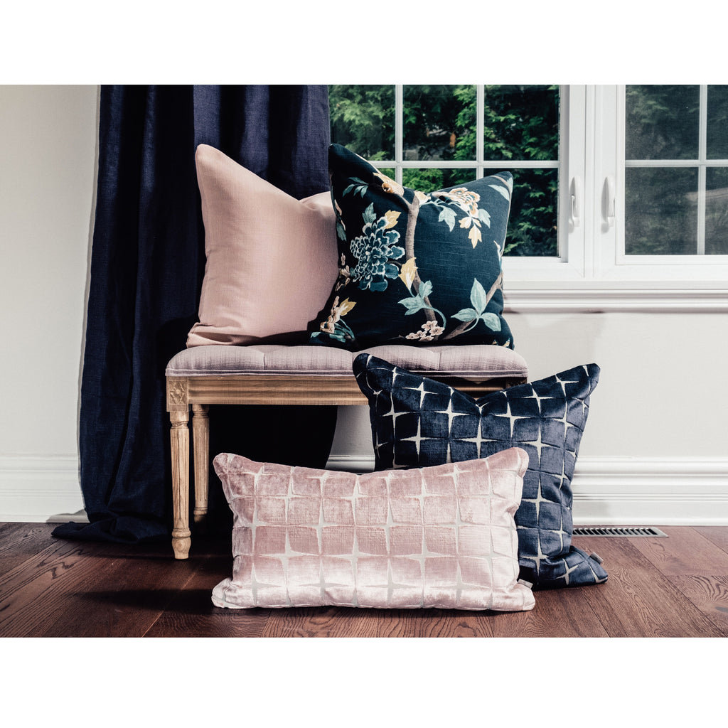 Olivia Navy Pillow