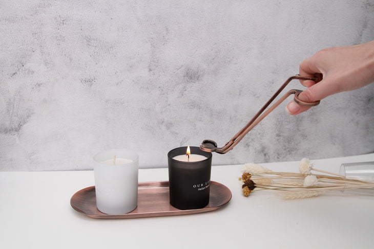 How to use candle care tools to make your candles beautiful !