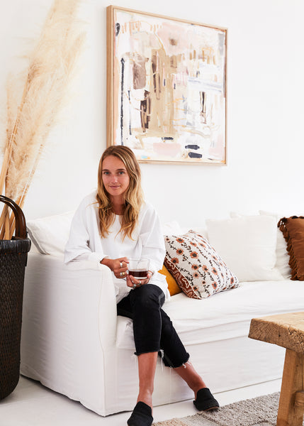 Step Inside the Dreamy Home and Studio of Artist Ashleigh Holmes