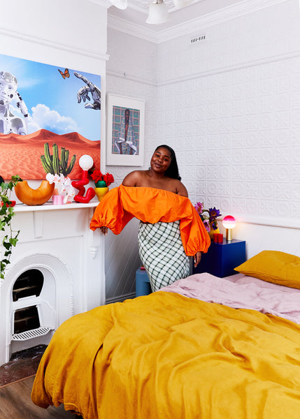 Flex Mami's Technicolour Dream Home Is Bursting With Style and Creativity