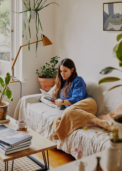 Inside the Cosy Melbourne Apartment of Artist and Musician Lucy Roleff