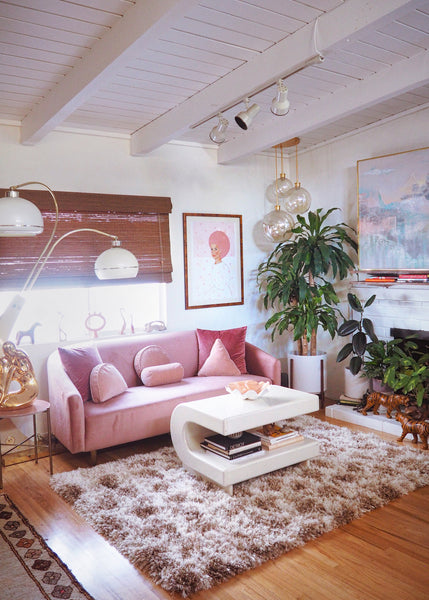 This Sun-Drenched Los Angeles Bungalow Is a Pastel Paradise