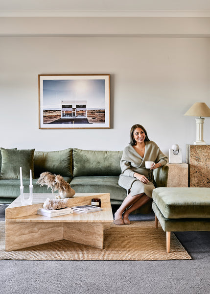 Inside the Curated Mid-Century Home of En Gold's Steffanie Ball