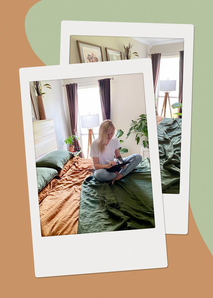 The Nook: Inside the Relaxed Bedroom of Artist Maggie Stephenson