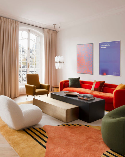 Places and Spaces: This Colourful Parisian Apartment Could Double as a Designer Boutique
