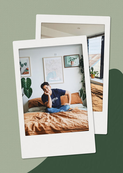 The Nook: Inside the Cosy Bedroom of Plant Stylist Benny Alcaraz