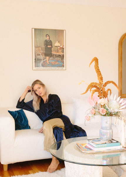 Tour the Chic '70s-Style Apartment of Ceramicist Rachel Saunders