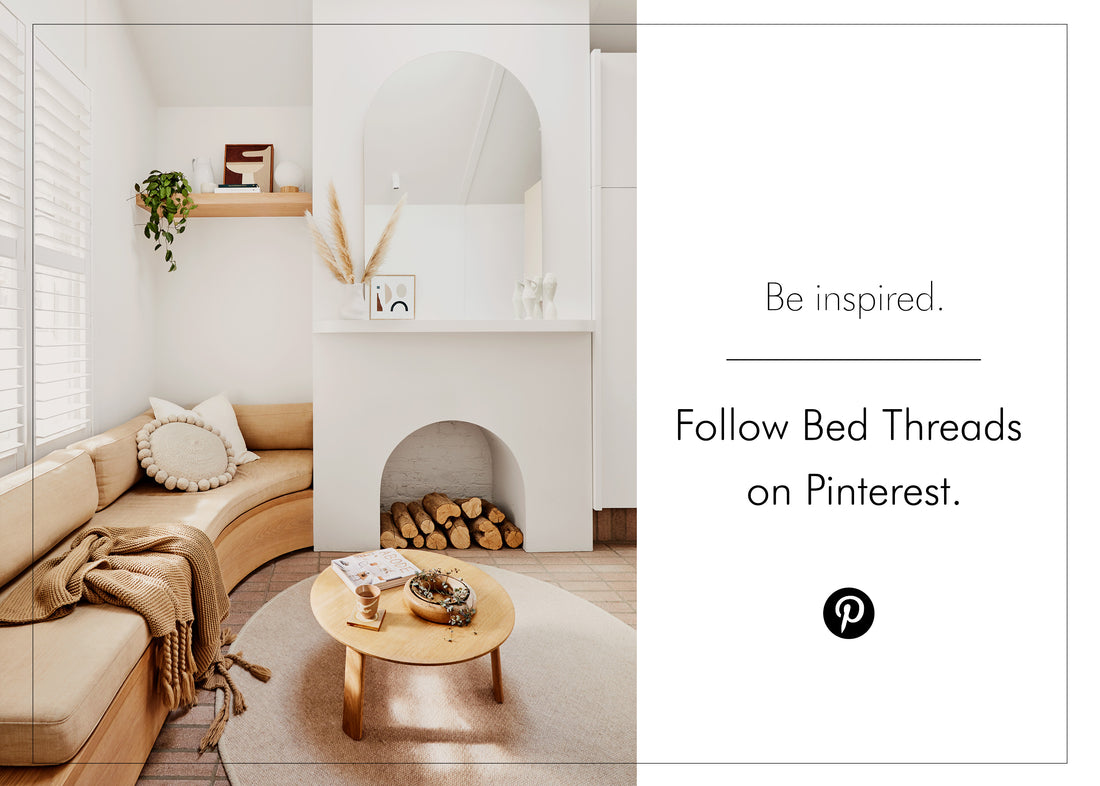 Follow Bed Threads on Pinterest