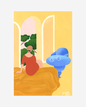 Load image into Gallery viewer, Isabelle Feliu x Bed Threads 'Petit Matin' Print
