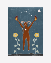Load image into Gallery viewer, Seeds of Spells x Sisters Village 'Aries' Print