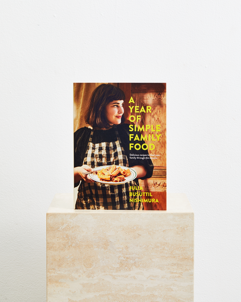 A Year of Simple Family Food by Julia Buttisil Nishimura