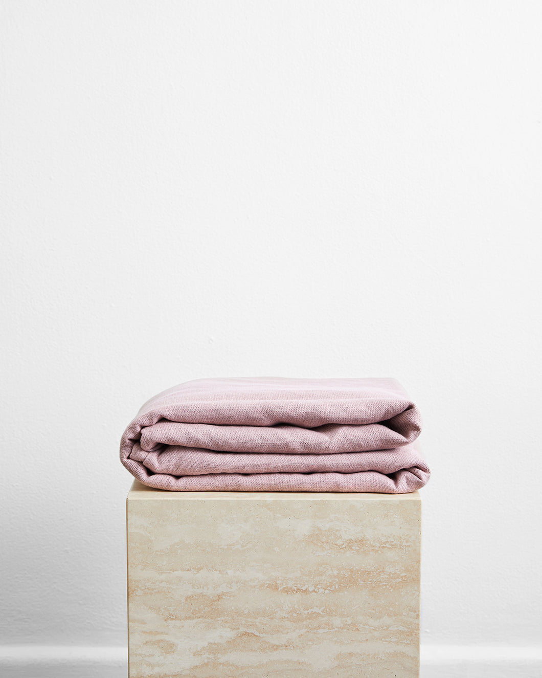Lavender 100% French Flax Linen Throw