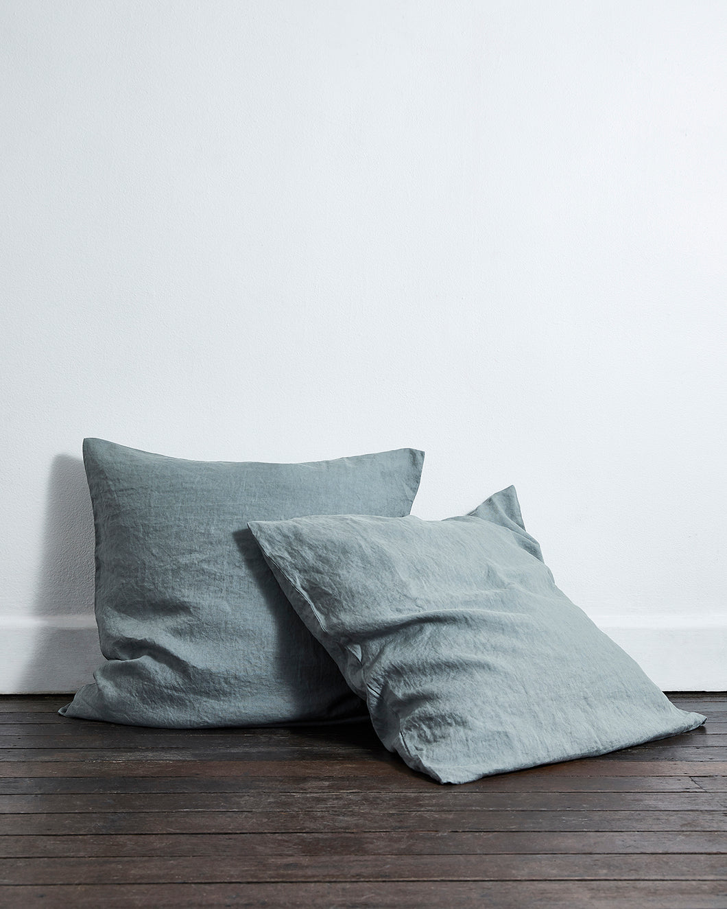 Mineral 100% Flax Linen European Pillowcases (Set of Two)