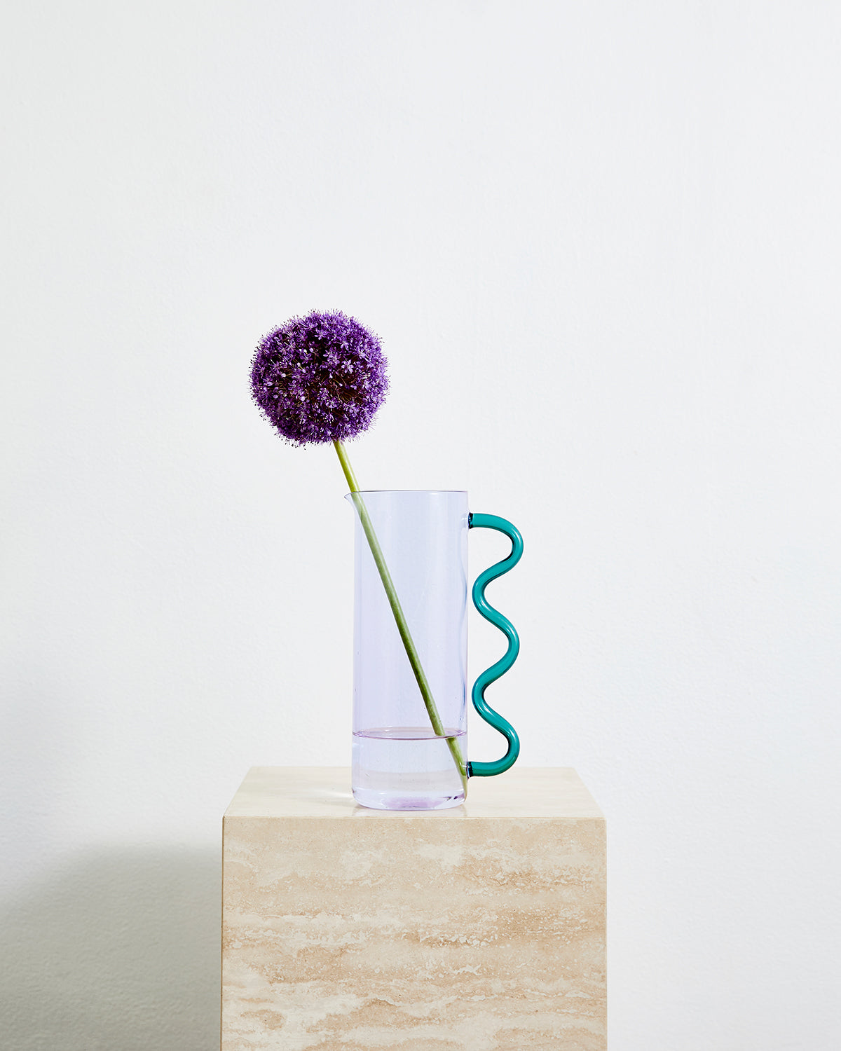 Sophie Lou Jacobsen Wave Pitcher in Purple & Teal
