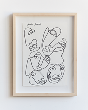 Load image into Gallery viewer, Claudia Miranda x Bed Threads 'One Together' Print