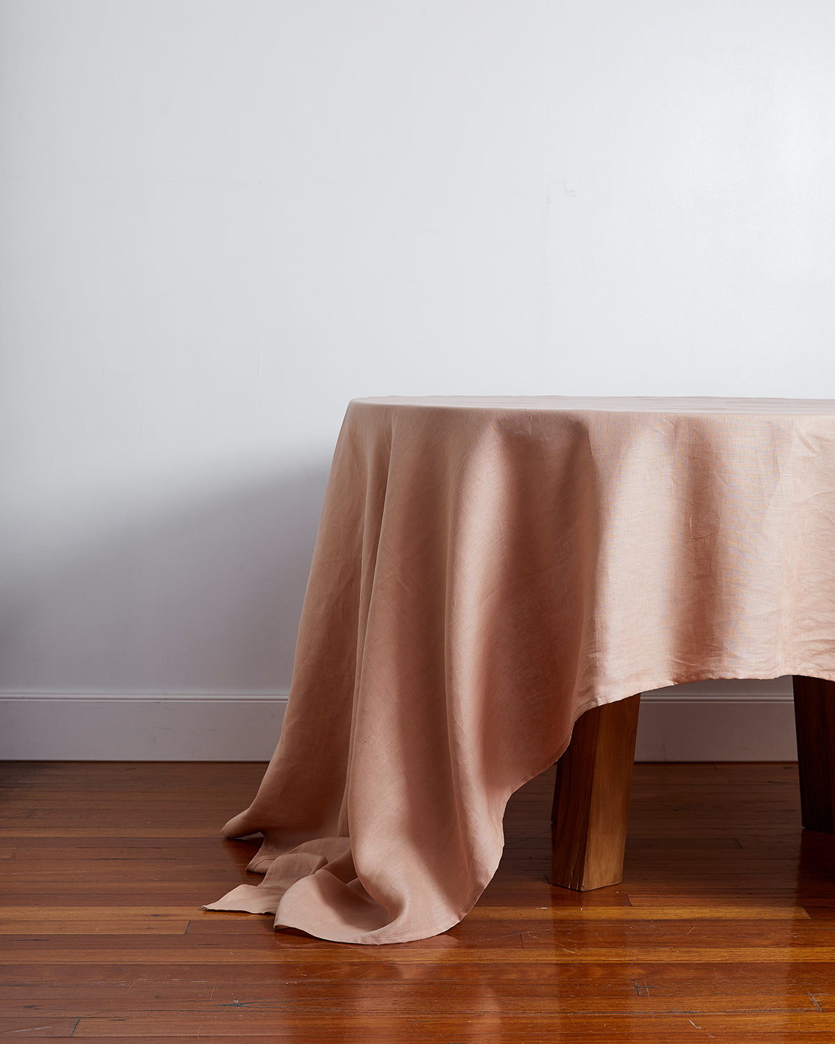 100% Linen Tablecloth in Terracotta