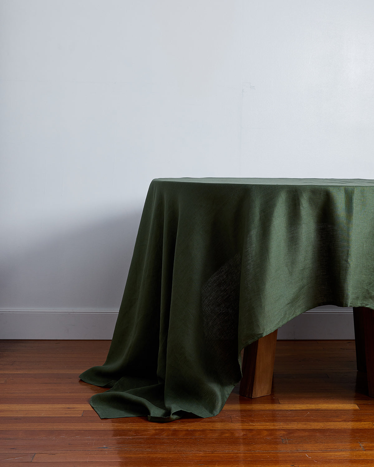 100% Linen Tablecloth in Olive