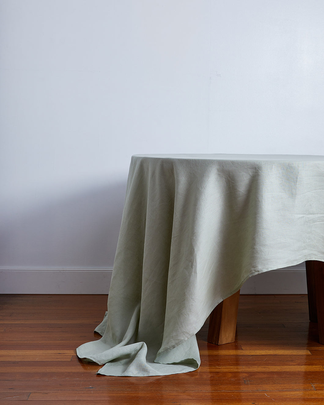 100% Linen Tablecloth in Sage