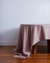 Load image into Gallery viewer, 100% Linen Tablecloth in Lavender