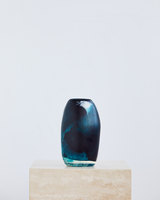 Load image into Gallery viewer, Dinosaur Designs Medium Pebble Vase In Moody Blue Swirl
