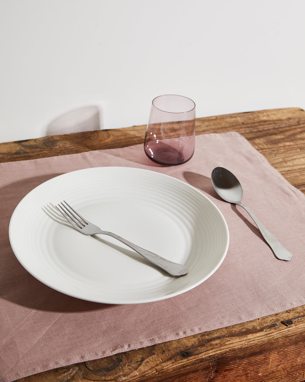 100% Linen Placemats in Lavender (Set of Four)