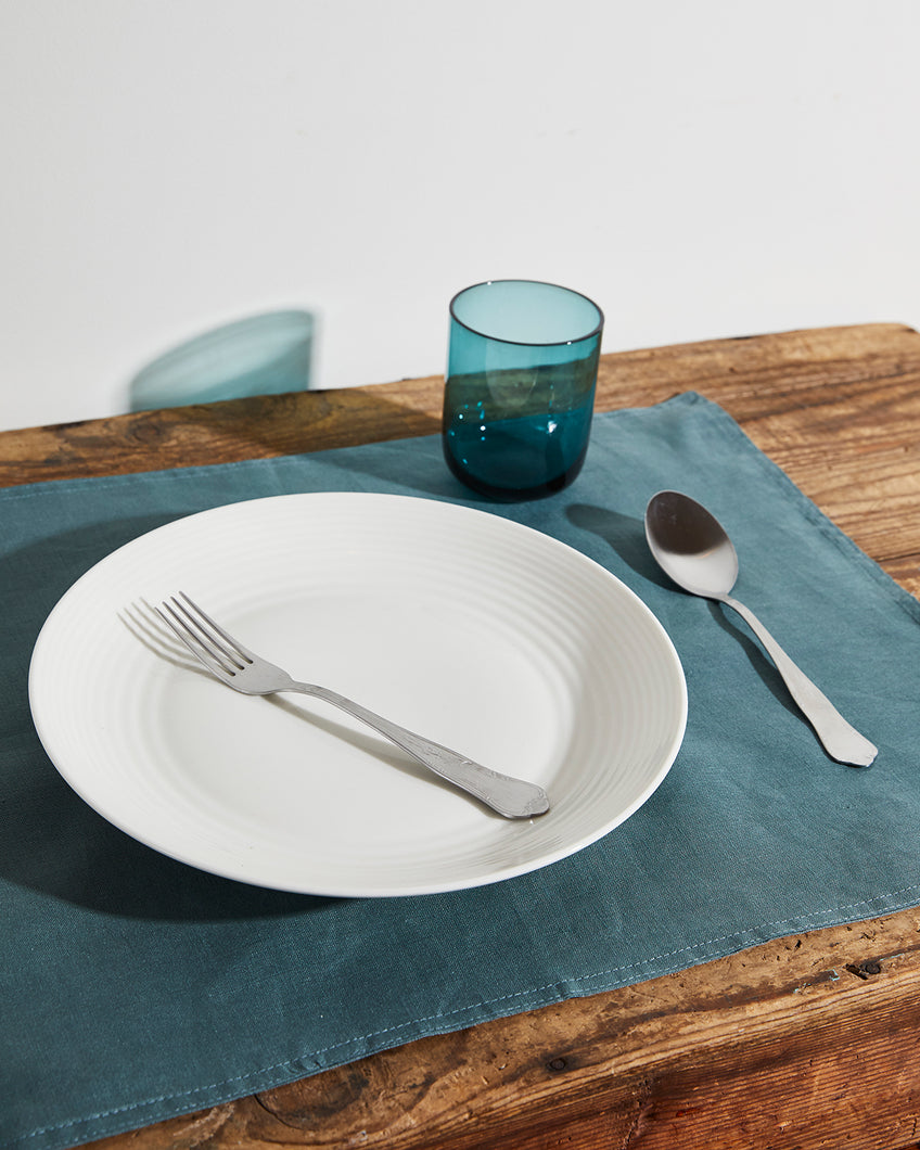 100% Linen Placemats in Petrol (Set of Four)