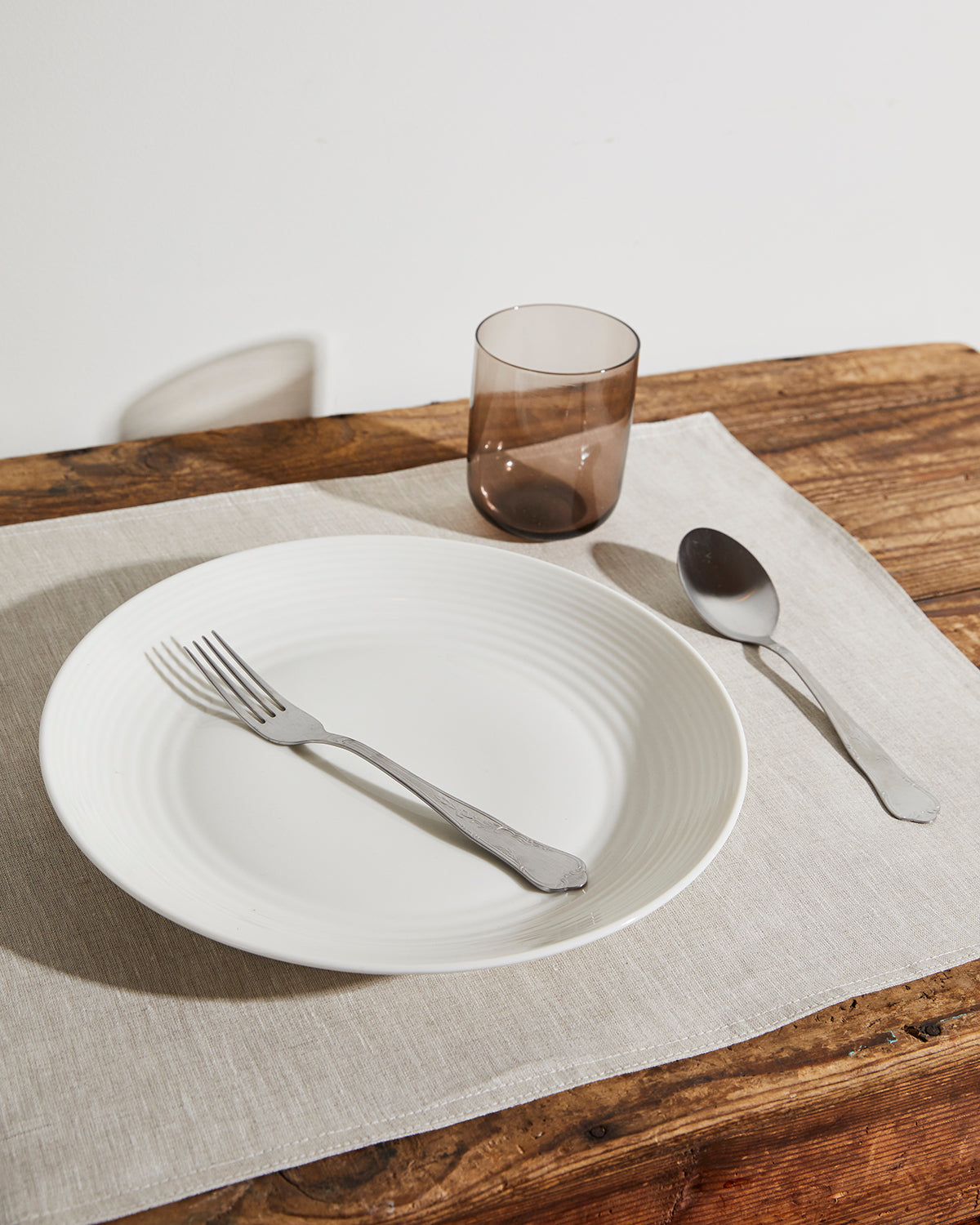100% Linen Placemats in Oatmeal (Set of Four)