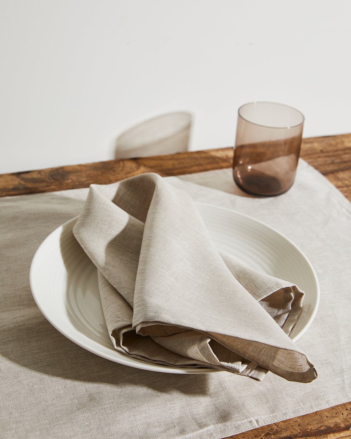 100% Linen Napkins in Oatmeal (Set of Four)