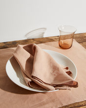 Load image into Gallery viewer, 100% Linen Napkins in Terracotta (Set of Four)
