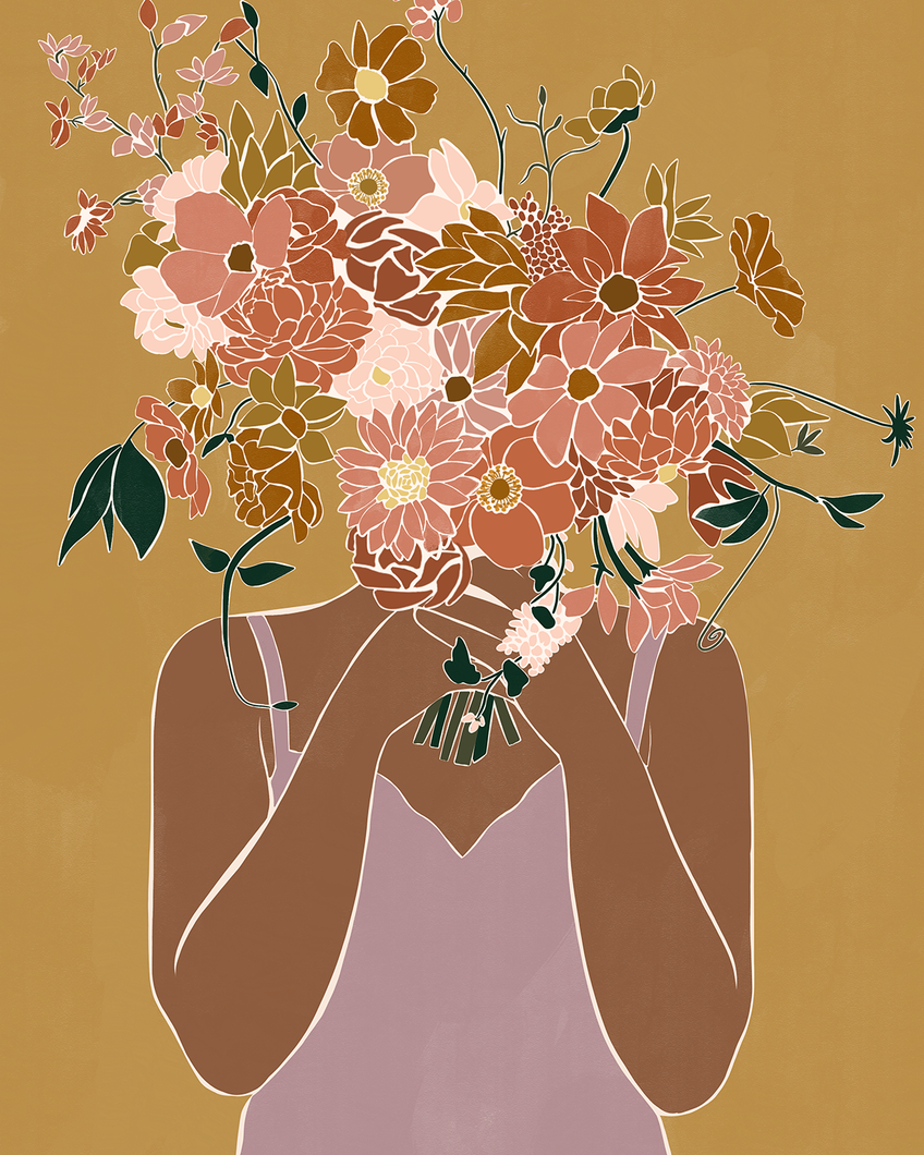 Rose England x Bed Threads 'Life In Bloom' Print