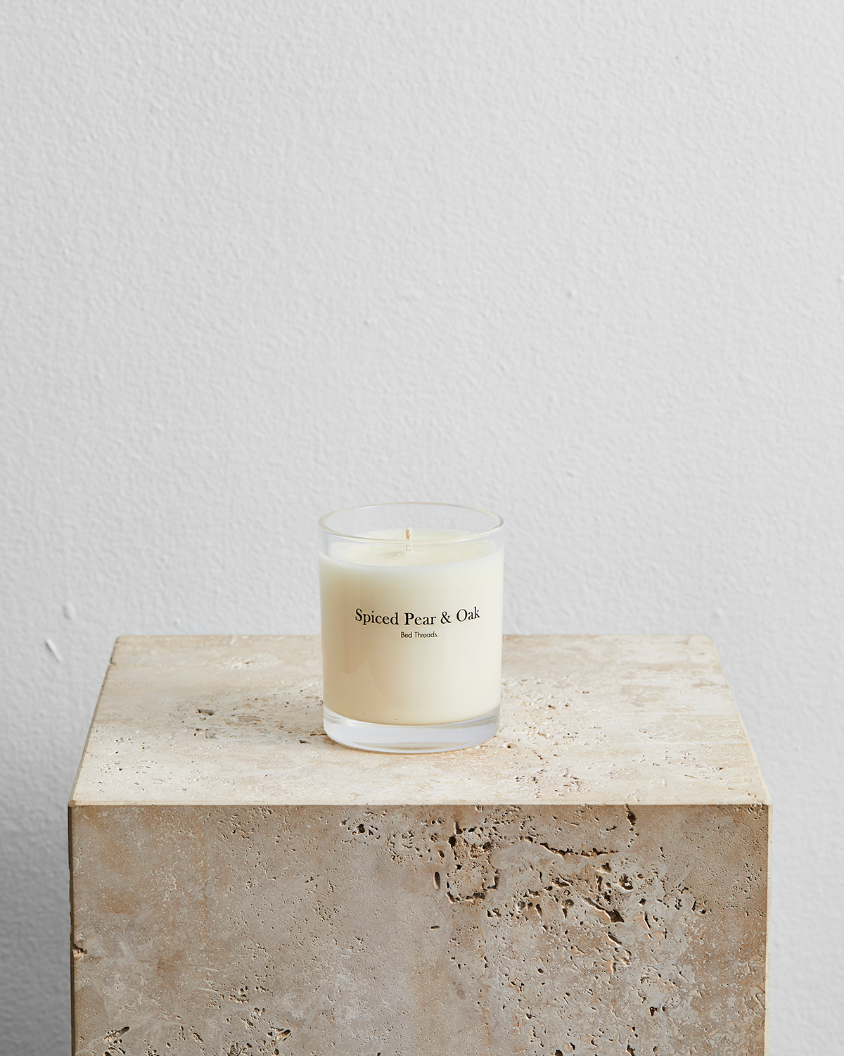 Spiced Pear & Oak Candle by Bed Threads