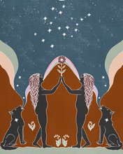 Load image into Gallery viewer, Seeds of Spells x Sisters Village 'Gemini' Print