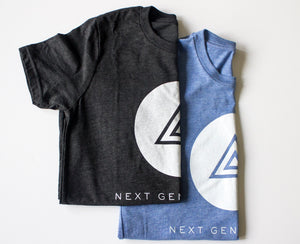 NEXT GENERATION T-SHIRT CHARCOAL