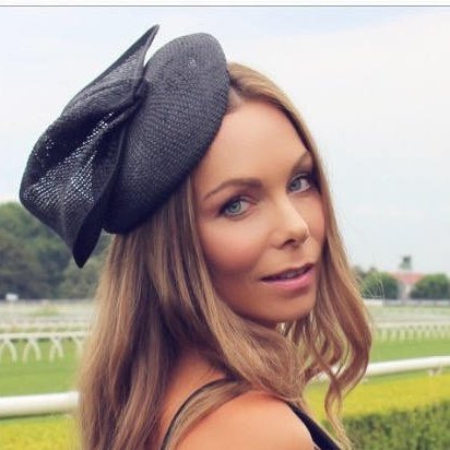 Alina Black Fascinator, Kentucky Derby Hat, High Quality Cocktail Hat, Royal Wedding Fascinator, Spring Derby Hats for Women, Tea Party Hat