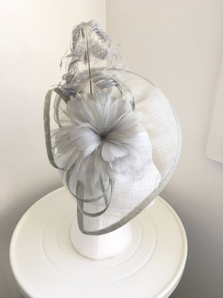 Zelda Black Fascinator, Kentucky Derby Headband, Fancy Hats for Women, Black Derby Hat, Tea-Party Headpiece, Royal Wedding Hats