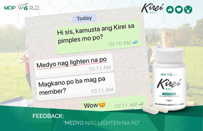 3 Bottles of Kirei Glutathione