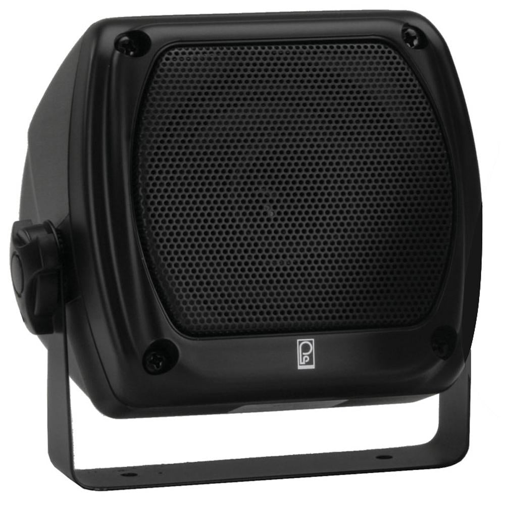 Poly-Planar Subcompact Box Speaker - (Pair) Black