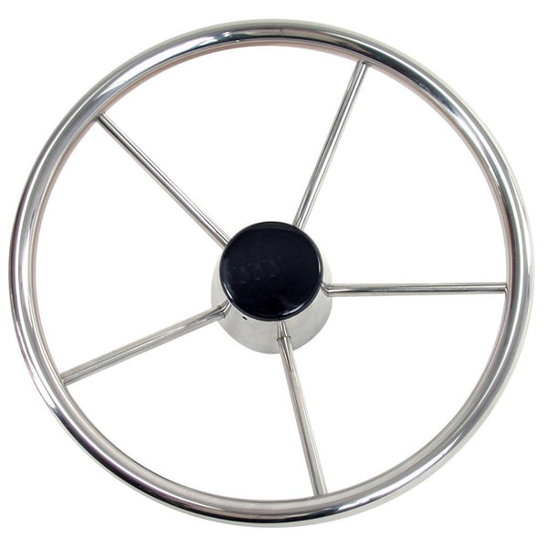 "Whitecap Destroyer Steering Wheel - 13-1-2"" Diameter"