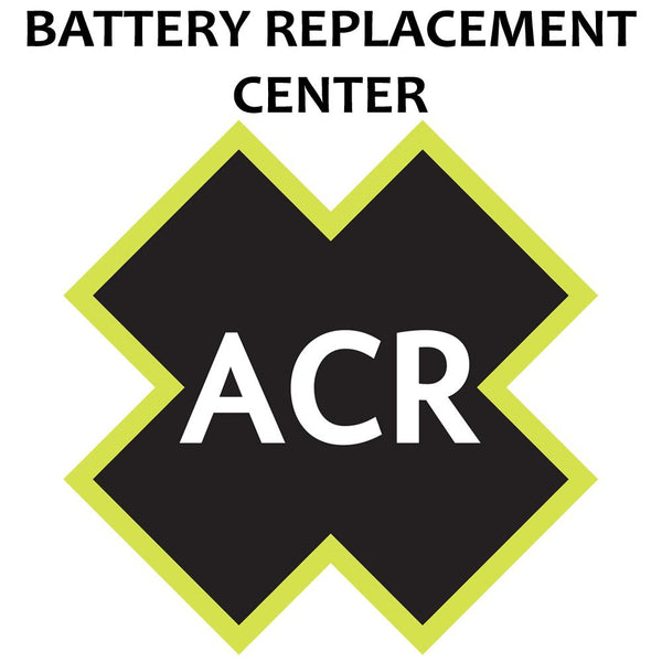 ACR FBRS 2898 Battery Replacement Service - PLB-300 MicroFix