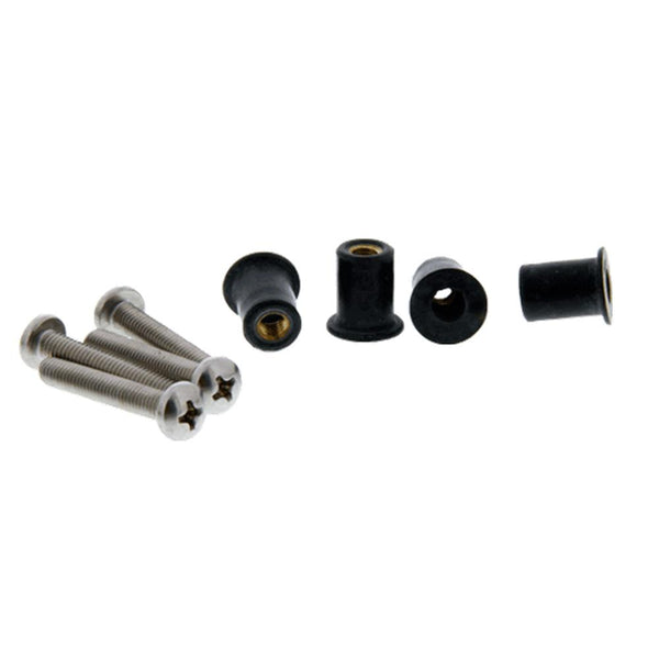 Scotty 133-100 Well Nut Mounting Kit - 100 Pack