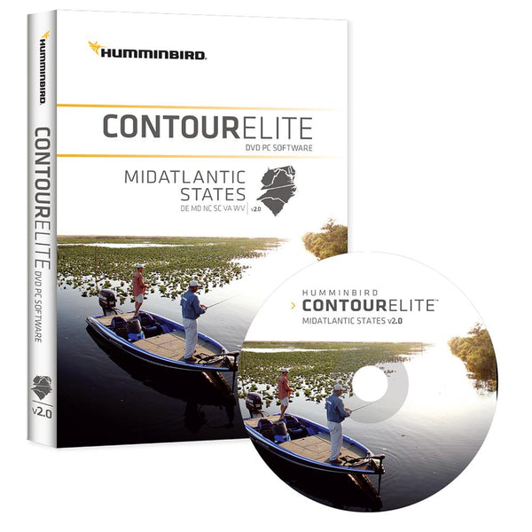 Humminbird Contour Elite - Mid-Atlantic States - Version 2.0