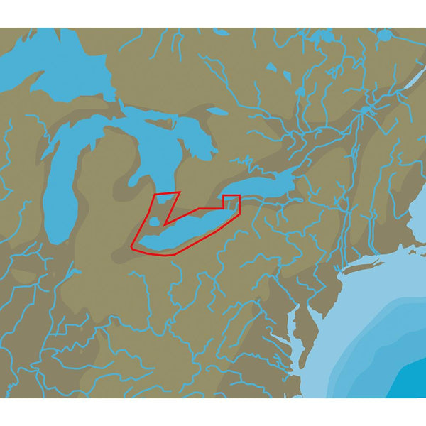 C-MAP NT+ NA-C112 Lake Erie & Lake St Clair - FP-Card Format