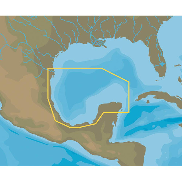 C-MAP NT+ NA-C413 Brownsville to Cancun, Mexico - FP-Card Format